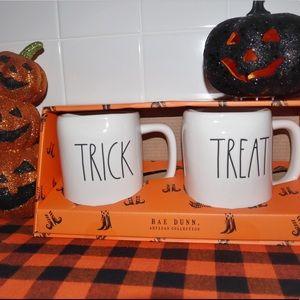 RAE DUNN New Trick or Treat Mug Set